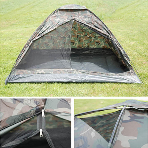 Tent 3 man monodone camouflage