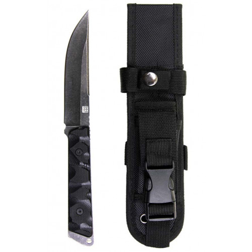 Knife with black G10 handle H5421