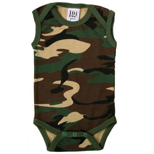 Baby body Woodland camouflage