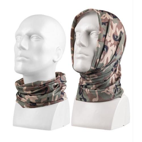Multifunctional headgear Woodland