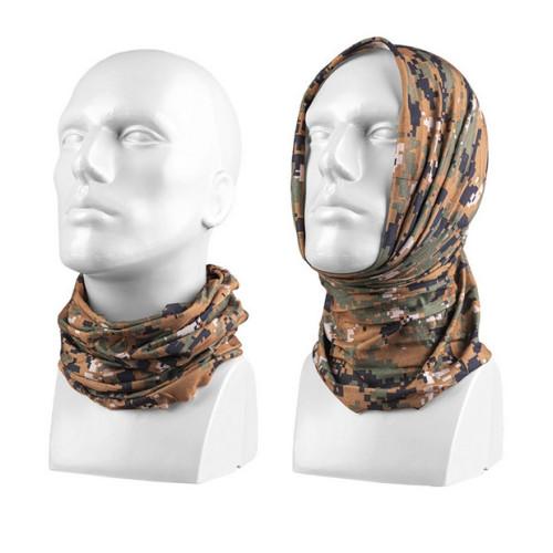Multifunctional headgear Digital Woodland