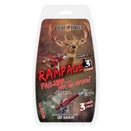 Deadringer Rampage 3-Hybrid Blades
