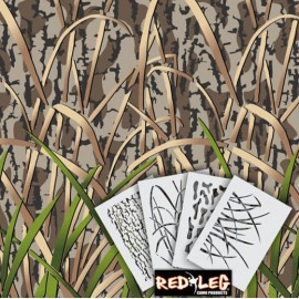 Duck Grass HD8 Stencil Kit