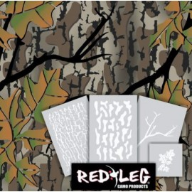 Fall Woods Camo stencil kit