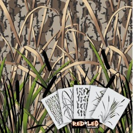Duck Grass HD5 Stencil Kit