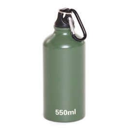 Alu vandflaske med karabinhage