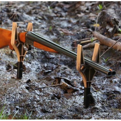 "SRB geværholder 6"" 2 styk brun"