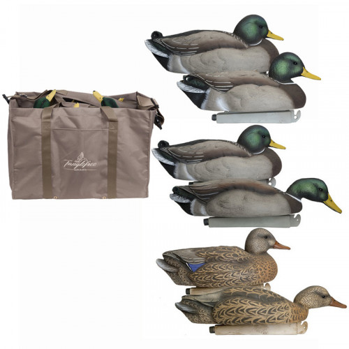 Flight Series Mallard Skimmer pack with 6 slot decoy bag