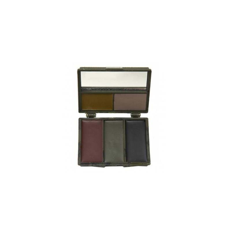 Camo Facepaint Woodland 5 colors
