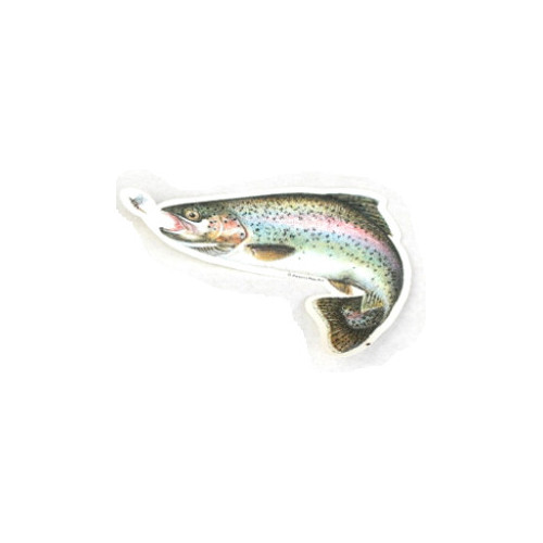 Car decal Rainbow trout 14 cm