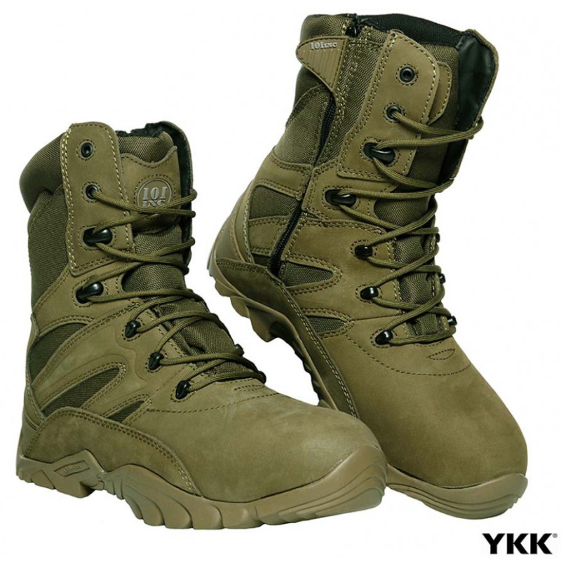 101inc støvle - Tactical Recon Green