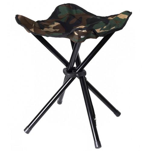 Collapsible 4 legged stool