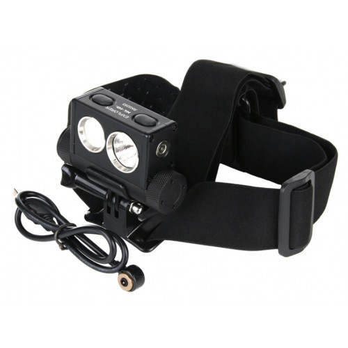 PowerTac headlamp Explorer HL10 rechargeable