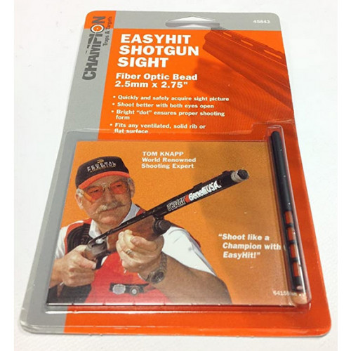 Champion Easy Hit Shotgun Hunting Sight Red (Rød) 2,5mm x 2,75""