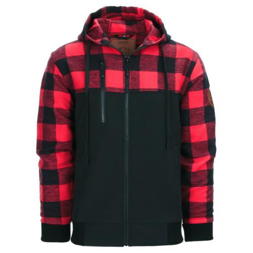 Skovmandsjakke Black/Red