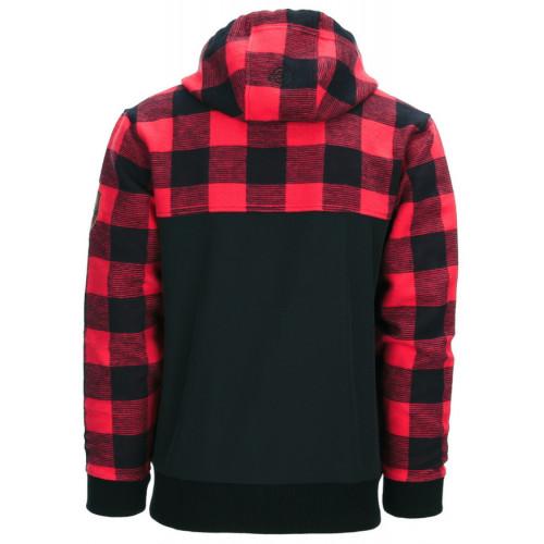 Lumbershell Jacket Black/Red